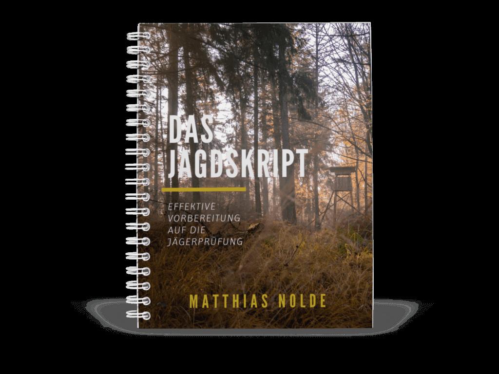 Jagdskript Spiralbuch